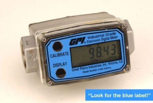 GPI FLOW METER G2 SERIES TURBINE METER, .75 INCH NPT, 316SS ()