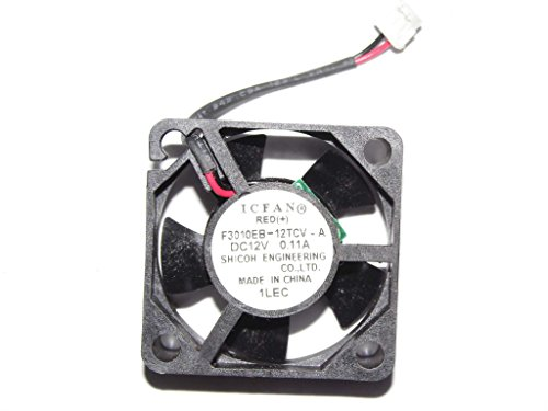 Generic 3cm F3010EB-12TCV-A 12V 0.11A 2Wire ICFAN Cooling Fan by General