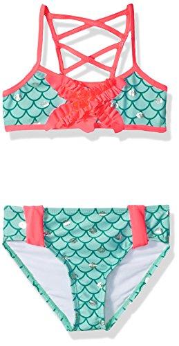 Jantzen Big Girls Mermaid Bikini, multi, (Jantzen 2 Piece)