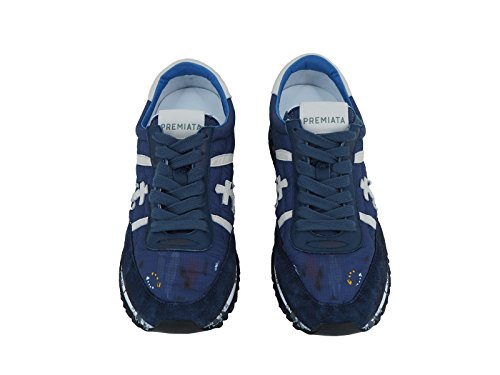 Hombre Premiata Zapatillas Para Turquesa Azul qWXTH