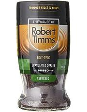 Robert Timms Espresso Extra Dark Roasted Granulated Coffee, 100 g