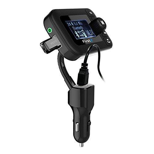 SODIAL(R) Car Bluetooth FM Transmitter Wireless Bluetooth