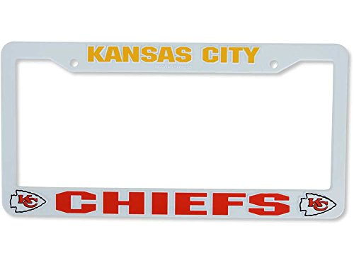Rico Industries Kansas City Chiefs License Plate Frame