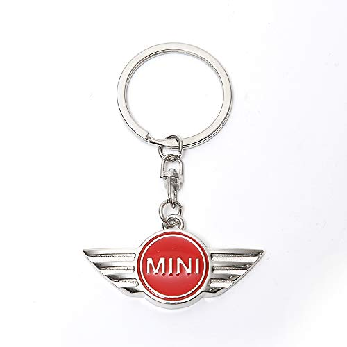Mini Cooper Car Accesories Cool Strap Landyard Keychains Key Ring Key Fob for Women (Red) (Ring Mini Key Cooper)