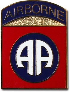 Flagline 82nd Airborne - Military Lapel Pin
