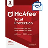 McAfee Total Protection 3 Device [Activation Code by Mail]