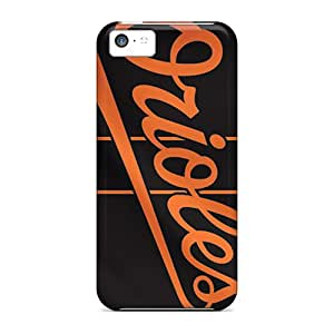 DectoriesSquare Perfect Tpu Case For Iphone 5c/ Anti-scratch Protector Case (baltimore Orioles)