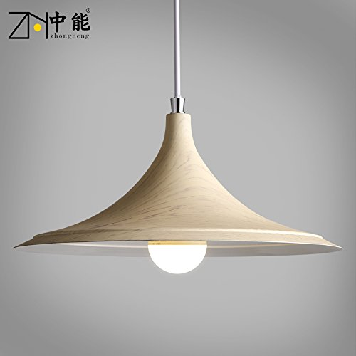 (Leihongthebox loft retro industrial wind Industrial Vintage Pendant Light Shade modern creative personality Creative Brief about personality West led iron Pendant Ceiling Lights, yellow light)