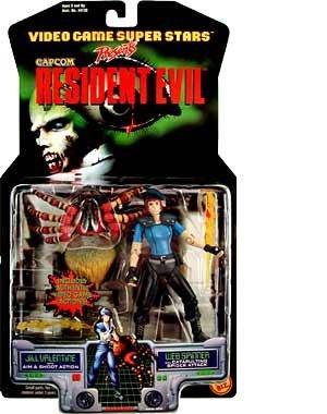 (Resident Evil Jill Valentine & Web Spinner by Toybiz)
