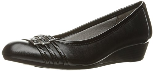 Soft Systems - LifeStride Women's Farrow Wedge Pump, Black 2, 8.5 W US