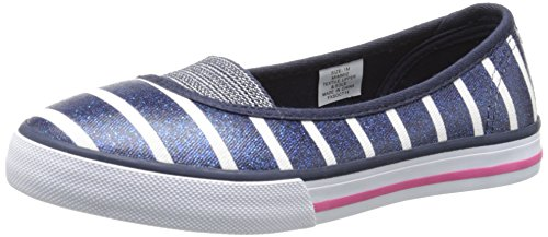 - Hanna Andersson Mimmi 2 Slip-On (Toddler/Little Kid/Big Kid), Navy Stripe, 8 M US Toddler