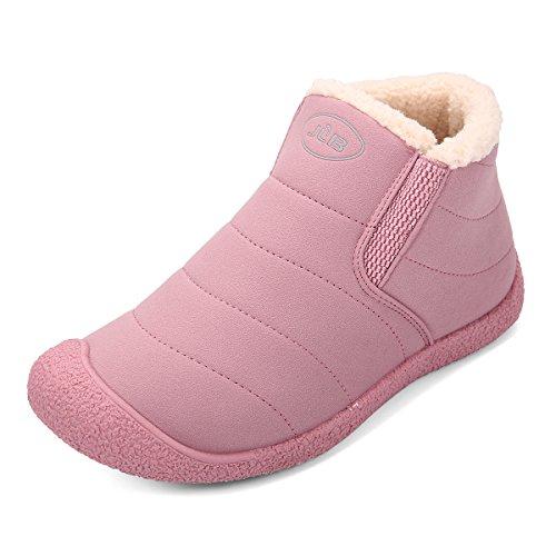 Gracosy - Botas para mujer Rosa Zapatos de moda en línea Obtenga el mejor descuento de venta caliente-Descuento más grande