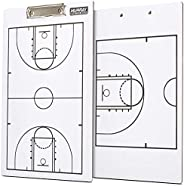 Murray Sporting Goods Basketball Coaches Clipboard   Dry Erase Double-Sided Basketball Clipboard for Coaching