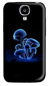Samsung S4 Case Blue 3D Mushrooms 3D Custom Samsung S4 Case Cover