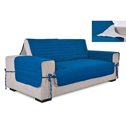 76 opinioni per la biancheria di casa Simplicity COPRIDIVANO SALVADIVANO Bicolore (4 posti, Blue