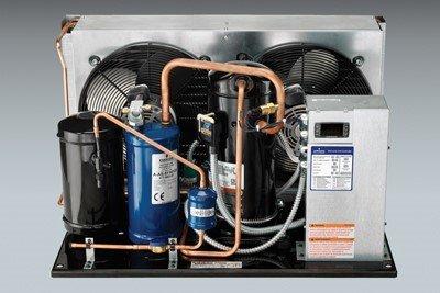 Copeland 5 HP, 208-230V, 3 PH, R22, 42,700 BTU/hr, Air Cooled, Condensing Unit