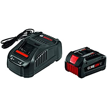 Bosch GXS18V-02N24 18V Starter Kit with CORE18V Batteries ...