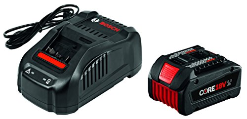 Bosch 18V Starter Kit with CORE18V Battery and Charger GXS18V-01N14 ()