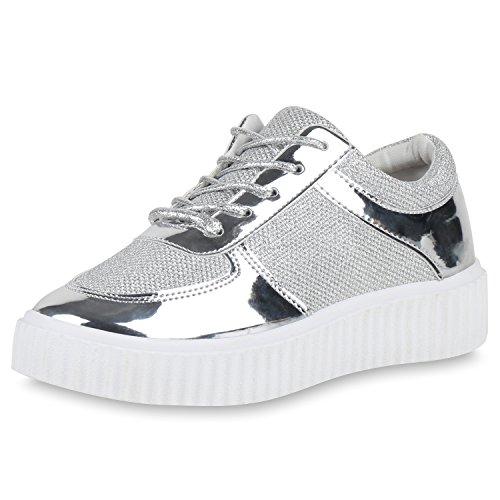 Japado - zapatos de tacón Mujer plata