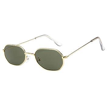 👓👓Qiiueen Gafas De Sol para Hombre Y Mujer, Marco De ...