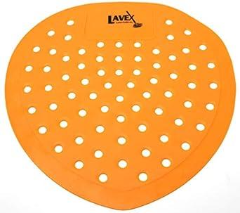 Lavex - Protector de pantalla orinal de vinilo naranja para ...