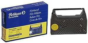 Pelikan 571554 cinta para impresora - Cinta de impresoras matriciales (Olivetti Praxis 40/45, Negro, 50g, 90m, 12mm, 80 x 110 x 25 mm)