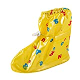 Practical Waterproof Shoe Covers Children's Rain Shoe Protector, Yellow