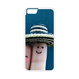 Finger couples iPhone 6 Case White