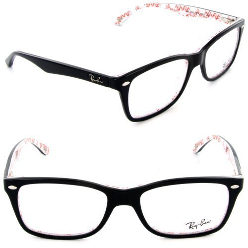 Ray-Ban Eyeglasses RX 5228 5014 Top Black on Texture Frame Size: - Rx5228 Ray Ban