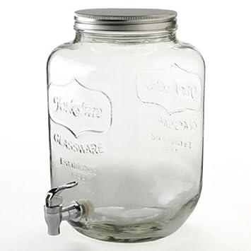 Ardisle grande 8 litros de la bebida del dispensador de clip de la tapa de almacenamiento