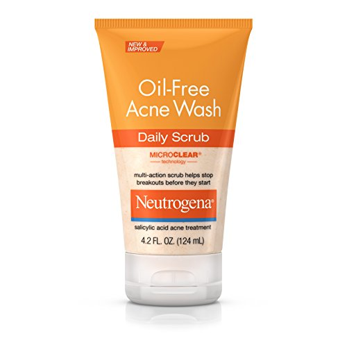 Acne Face Wash Daily Face Scrub with Salicylic Acid Acne Medicine, 4.2 fl. oz ()