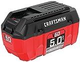 CRAFTSMAN V60 Battery, 5.0 Ah Lithium Ion