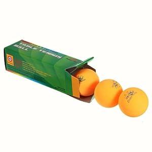Meco 3x Double Fish 2Sterne Tischtennis Ping Pong Ball 40mm für Match...