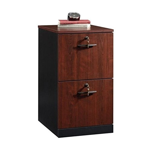 Pemberly Row 2 Drawer File Cabinet in Classic - 2 Cherry Drawer Classic