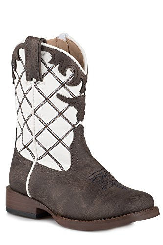 ROPER Baby Steerhead, Brown, 8 M US Toddler