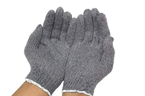 99Crafts ® Premium Quality Reusable Cotton Knitted Gloves 60 GSM- Pack of 5 Pairs Grey (B08CD2VB5S) Amazon Price History, Amazon Price Tracker