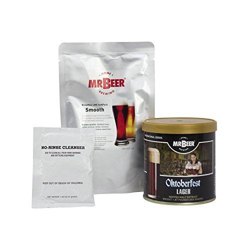 Mr. Beer Oktoberfest Lager Deluxe Home Brewing Beer Refill Kit