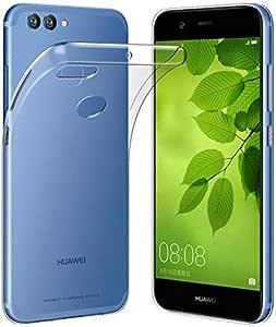 Huawei Nova 2 Plus TPU Silicone Clear Case Back Cover By Muzz