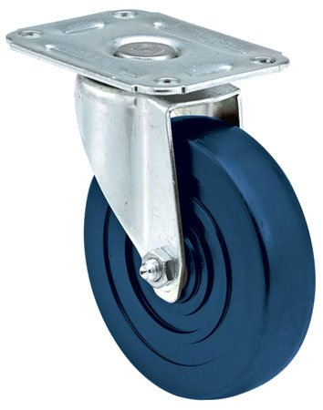E.R. Wagner Caster, General Purpose, Light-Medium Duty, Swivel, Type - Polyurethane, Capacity=275 lbs. (1 Each) - Light Medium Duty Casters