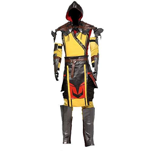 Mortal Kombat 11 Scorpion Costume for Adult L for $<!--$169.00-->