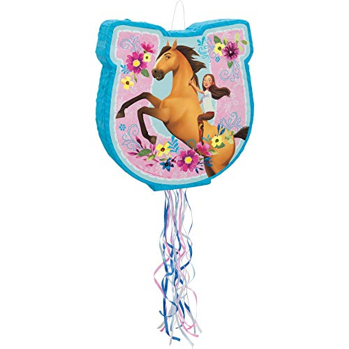 Unique Spirit Riding Free Shaped Pull Party Pinata, 1 Ct.
