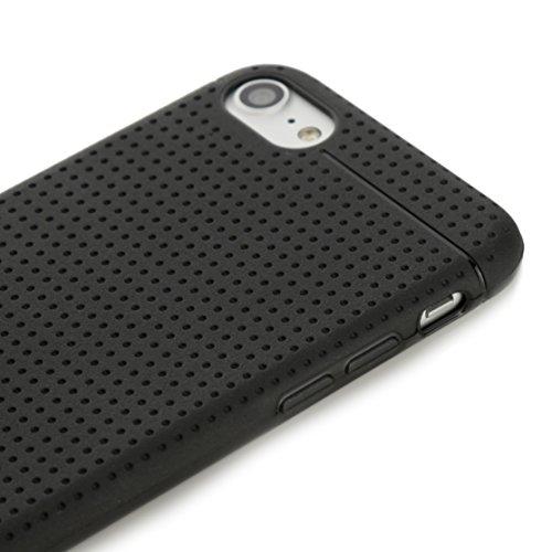 Arktis iPhone 8 / 7 Grip Case schwarz