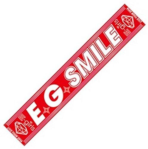 E-girls LIVE TOUR 2016 ~E.G. SMILE~ E.G. SMILE マフラータオルの商品画像
