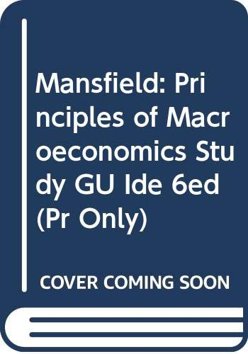 Principles of Macroeconomics, Study Guide