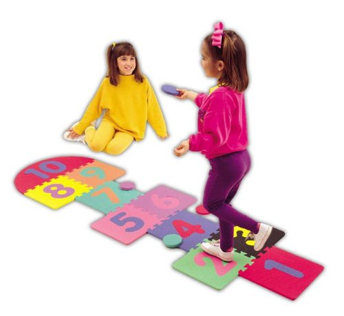 Alessco 1250 Soft Floors 2 x 7 Hopscotch Set - Pack of 9 from Alessco