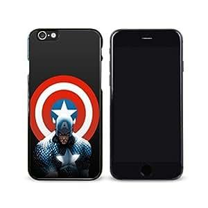SuperHero Captain America image Custom iPhone 6 - 4.7 Inch Individualized Hard Case