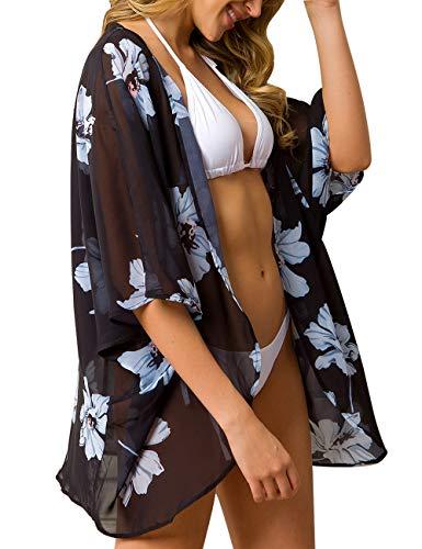 a.Jesdani Women's Chiffon Kimono...