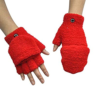 NUWFOR Men Gloves Breathable Cycling Bicycle Sports Breathable Sweat Mesh Gloves?Red,Free?