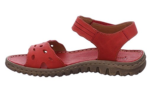 Josef Red Seibel Fashion Sandals Women's red 8qT8vYw
