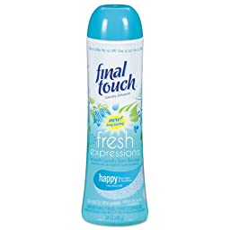24 oz. Final Touch Fresh Expressions In-Wash Laundry Scent Booster, Powder, Blue Lotus (6/Carton) - BMC-PBC 58221CT